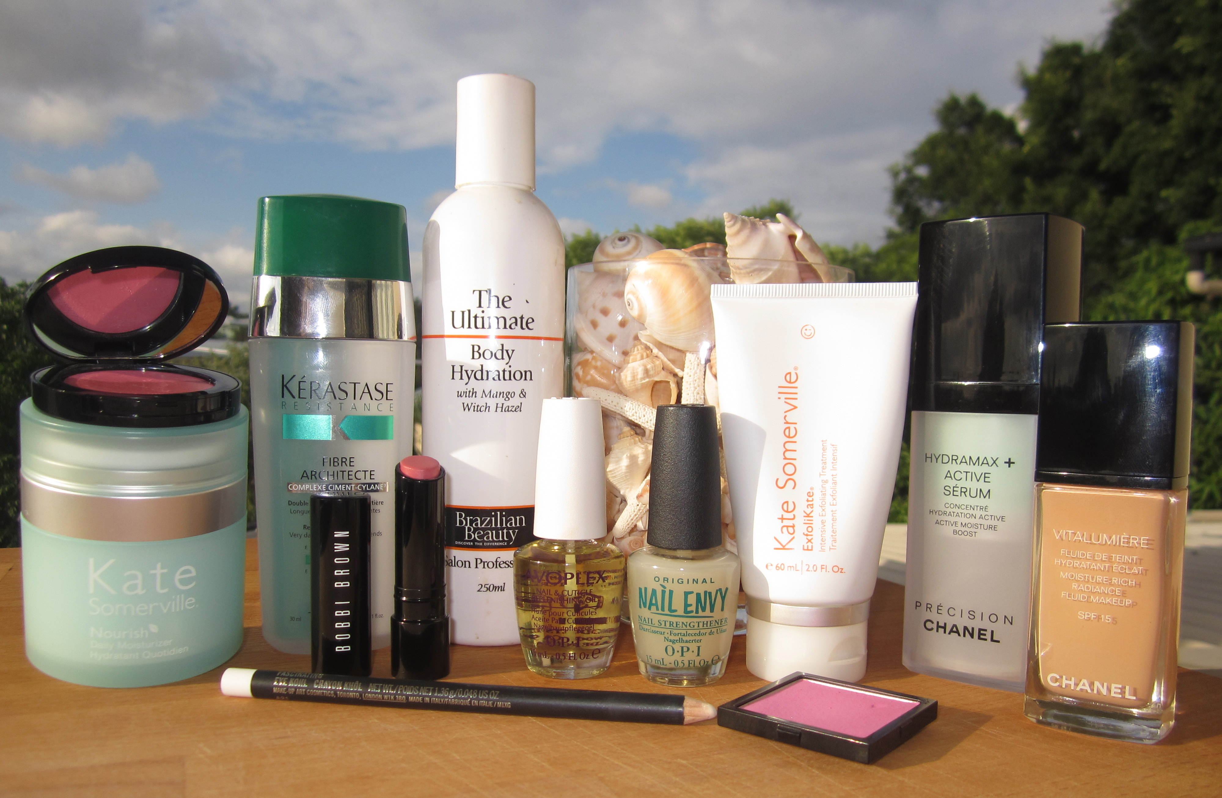 Favourite beauty products