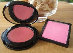 cream and powder pink blush