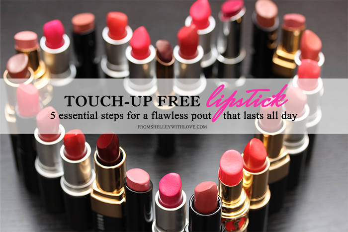 Longwear Lipstick Tips - From Shelley With Love