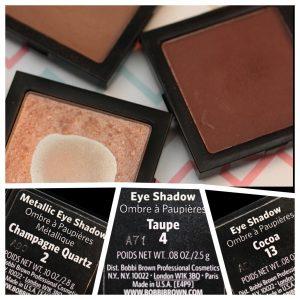 Natural eyeshadow colors