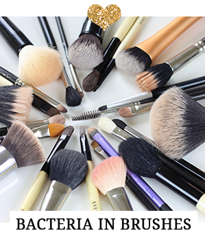 A must read for all makeup brush users - bacteria in brushes.