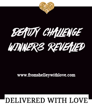 Beauty Challenge Week - From Shelley With Love Winners