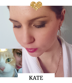Kate Anderson - Winner of Day 4 Beauty Challenge