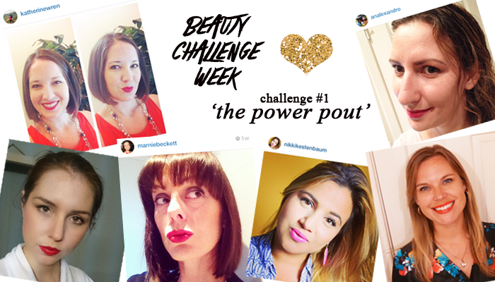 From Shelley With Love Beauty Challenge Week - The  Power Pout Entries