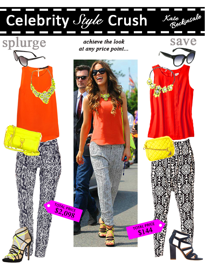 Celebrity Style - Splurge or Save. Kate Beckinsale (From Shelley With Love)