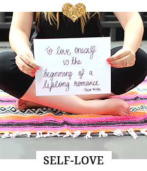 Self-Love is the heart of the From Shelley With Love Lifestyle