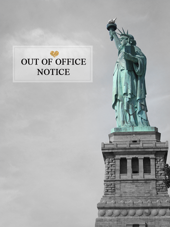 Out Of Office - NYFW - From Shelley With Love