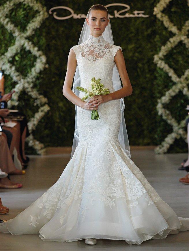Oscar de la Renta Bridal 2013 Look 9