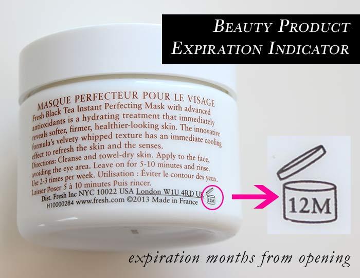 Beauty Product Expiration Indicator