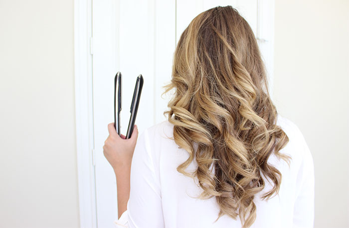 How To Curl Your Hair With A Flat Iron The Easy Way