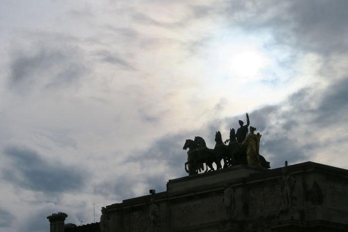 Lourve-Statue