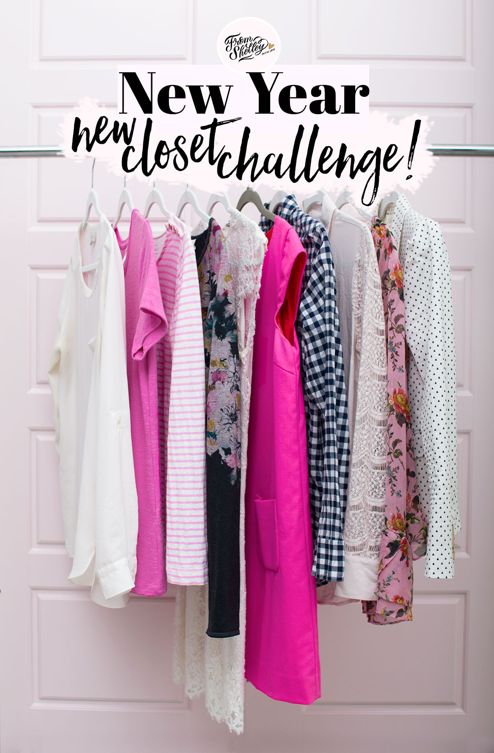 New Years Closet Cleanse Challenge 2018