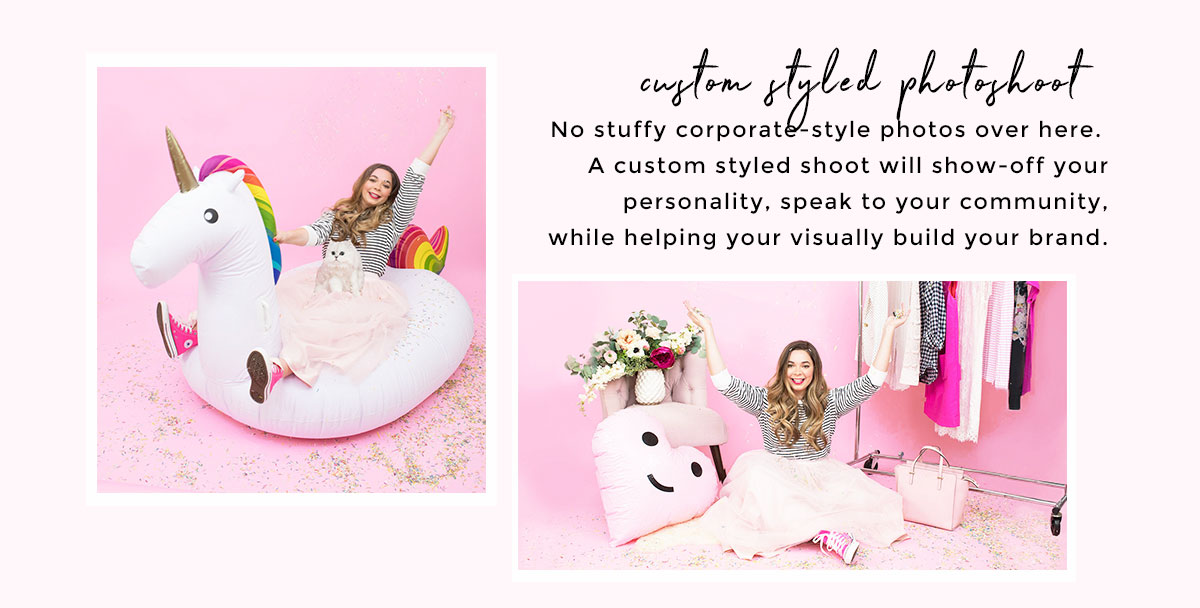 Brand Photo Styling + Creative Direction Services for Female Entrepreneurs