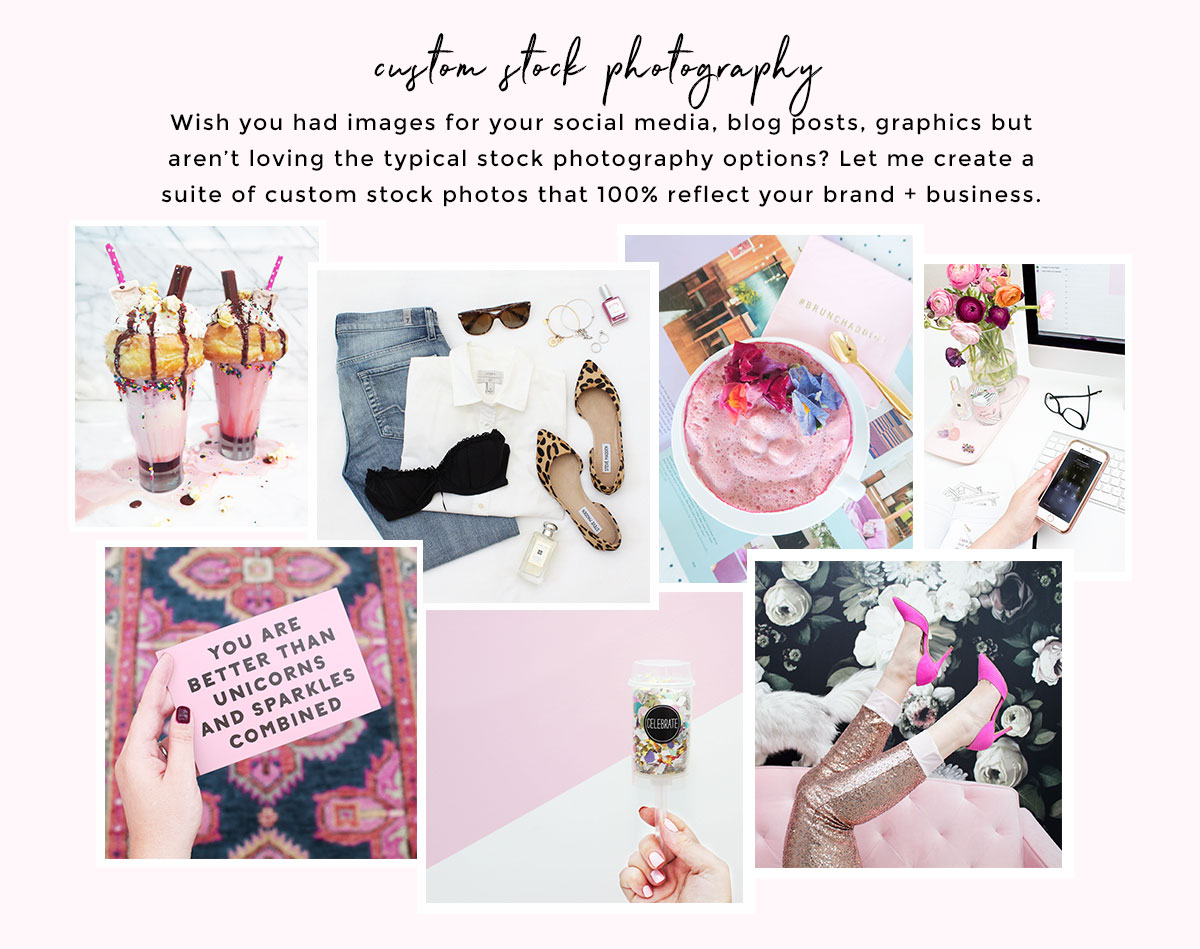 Custom Stock Photography + Creative Direction Services for Female Entrepreneurs